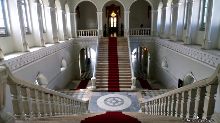 escadarias do Palácio